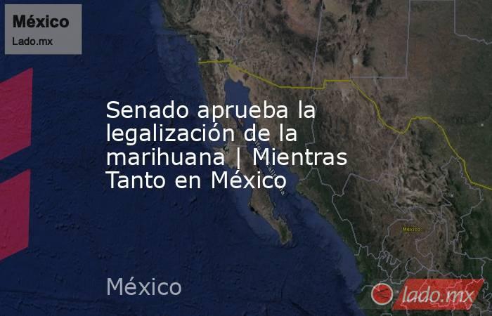 Senado aprueba la legalización de la marihuana | Mientras Tanto en México. Noticias en tiempo real