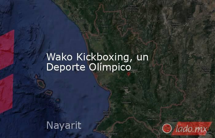 Wako Kickboxing, un Deporte Olímpico. Noticias en tiempo real