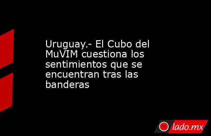 Uruguay.- El Cubo del MuVIM cuestiona los sentimientos que se encuentran tras las banderas. Noticias en tiempo real